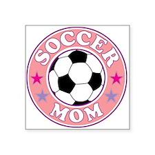 SOCCER MOM Sticker
