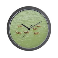 Baby Ducks Wall Clock