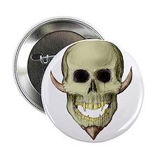 Horned Skull Button