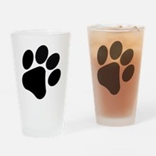 PawPrint Drinking Glass
