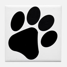 PawPrint Tile Coaster