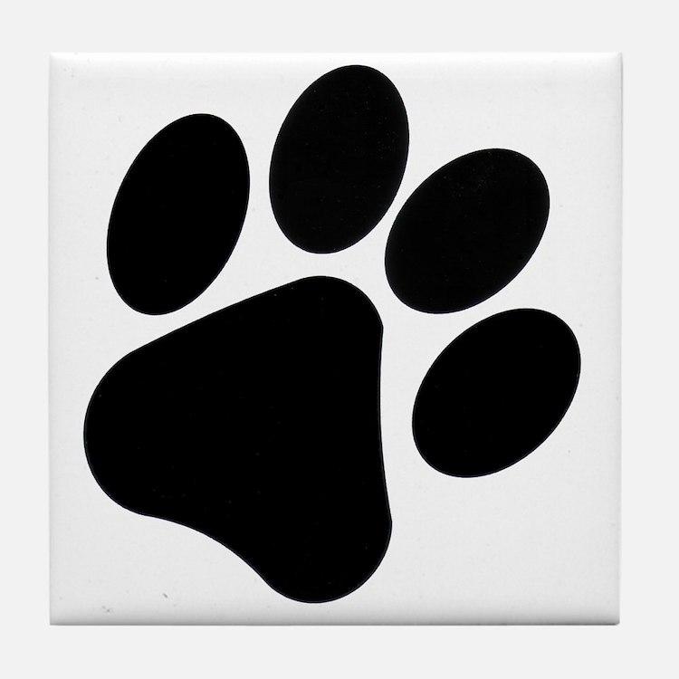 PawPrint Tile Coaster
