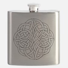 Circular celtic knot Flask
