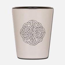 Circular celtic knot Shot Glass