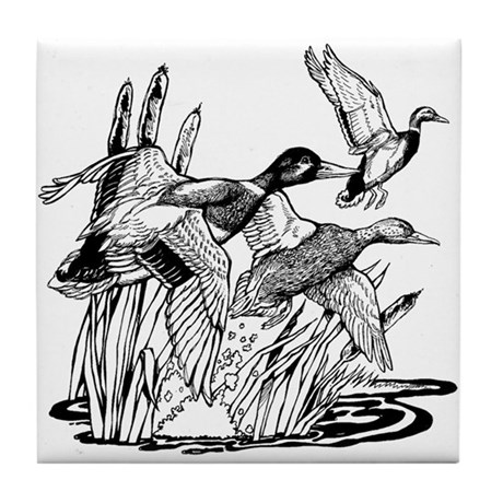 Ducks Unlimited Tile Coaster