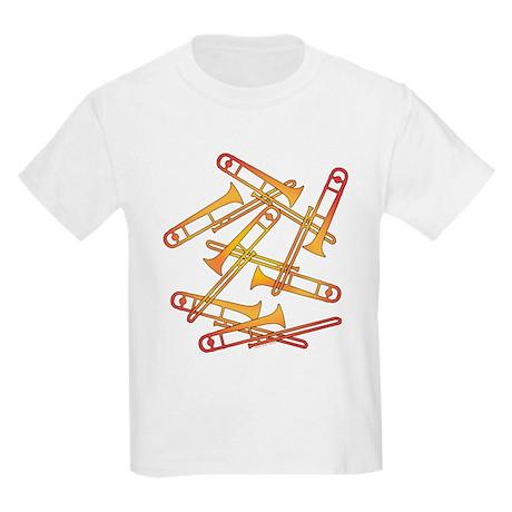 Fiery Trombones Kids Light T-Shirt