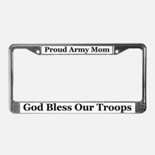 Mom God Bless License Plate Frame