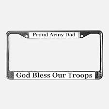 Dad God Bless License Plate Frame