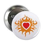 Burning Heart Button