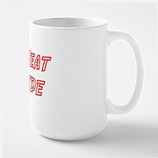 NO MEAT INSIDE Large Mug