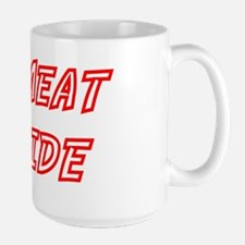 NO MEAT INSIDE Mug