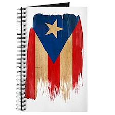 Puerto Rican Flag Journal