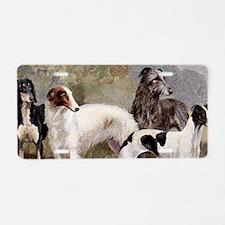 Sighthound Leash Holder Aluminum License Plate