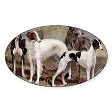 Sighthound Serving Tray Decal