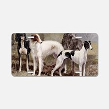Sighthound Serving Tray Aluminum License Plate