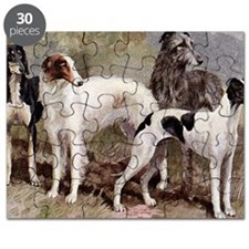 Sighthound Serving Tray Puzzle