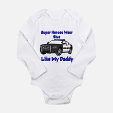 Super Heroes Like Daddy Body Suit