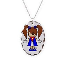 Image4 Necklace Oval Charm