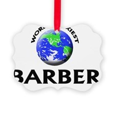 World's Sexiest Barber Ornament