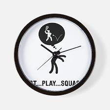 Squash-A Wall Clock