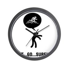 Surfing-A Wall Clock