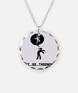 Javelin-A Necklace Circle Charm