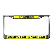 Computer Engineer License Plate Frame