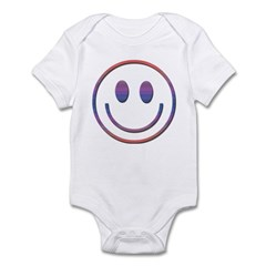 Pretty Smiley Face Infant Bodysuit