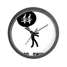 Synchronized-Swimming-C Wall Clock