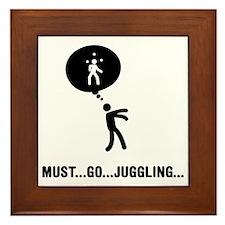 Juggling-C Framed Tile