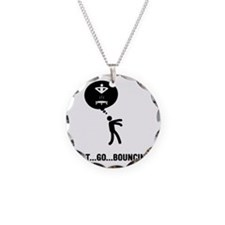 Trampoline-C Necklace Circle Charm