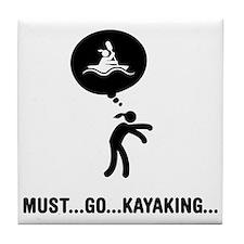 Kayaking-A Tile Coaster