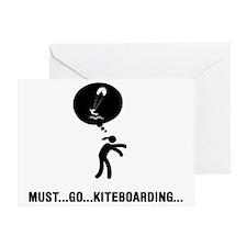 Kiteboarding-A Greeting Card