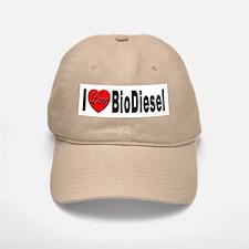 I Love BioDiesel Baseball Baseball Cap