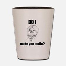 Sloths Like to Smile Shot Glass