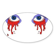 Bloody Eyes Decal