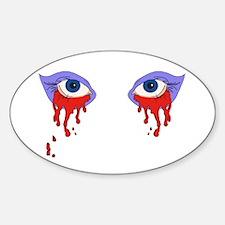 Bloody Eyes Decal