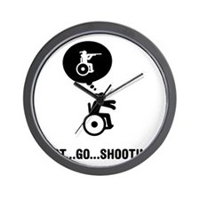 Wheelchair-Shooting-A Wall Clock