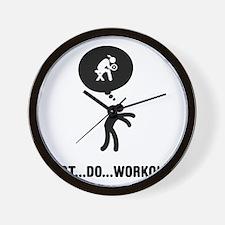 Workout-A Wall Clock