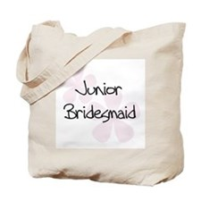 Jr. Bridesmaid Pink Tote Bag