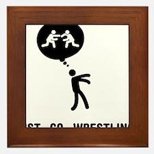 Wrestler-C Framed Tile