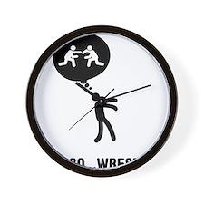Wrestler-C Wall Clock