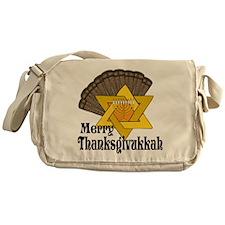 Merry Thanksgivukkah Messenger Bag