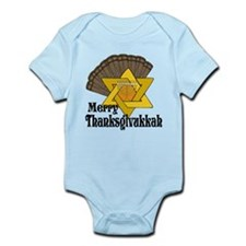 Merry Thanksgivukkah Body Suit