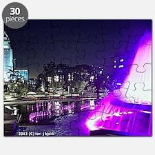 grand park fountain messenger bag Puzzle