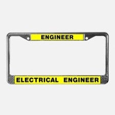 Electrical Engineer License Plate Frame