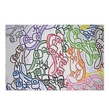 LAX skateboards by bjork  Postcards (Package of 8)