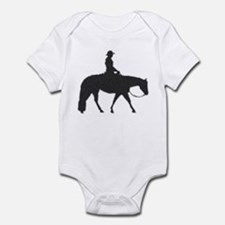 Western pleasure pixels Infant Bodysuit