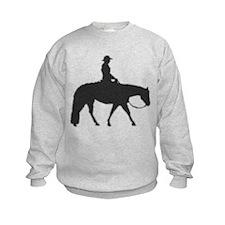 Western pleasure pixels Sweatshirt
