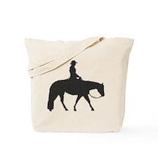 Western pleasure pixels Tote Bag